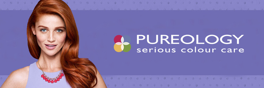 pureology hair care products photoshoot